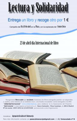 LECTURA Y SOLIDARIDAD del 18 al 30 Abril 2011