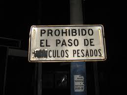 Por fin el 28 Diciembre 2011, El Ayto. Colmenarejo (P.P.) ante la falta de señales de prohibido el paso en el almacen decide colocar un cartel para cumplir el Acuerdo del pleno de Septiembre 2011