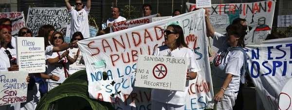 PSOE COLMENAREJO SOBRE LA HUELGA EN LA SANIDAD MADRILEÑA