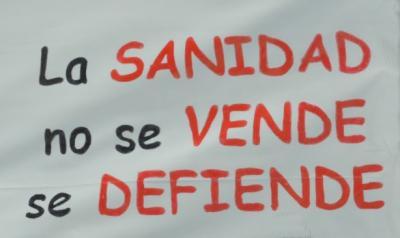 MOCION EN DEFENSA DE LA SANIDAD PÚBLICA Y EL APOYO DE LOS PROFESIONALES SANITARIOS