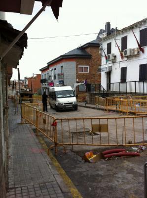 Obras Calle Madrid en el BOCM