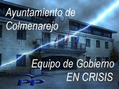 Crisis en el Ayuntamiento de Colmenarejo