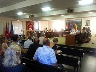 #PlenoColmenarejo Julio 2013: Psoe #Colmenarejo presentó una Moción de Urgencia contra la línea de Alta Tensión