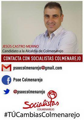 Jesús Castro Merino, Candidato Socialista a la Alcaldía de Colmenarejo